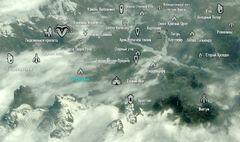 Chistyi ruchey map