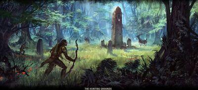 Elder scrolls online hircine s hunting ground by chimera1993-d7bpt83