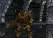 Redguard - Giant Dwarven Golem