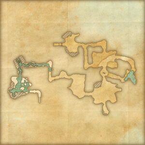 Древняя нора (план)