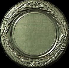 Серебряное блюдо(Фамильная реликвия Аретино)