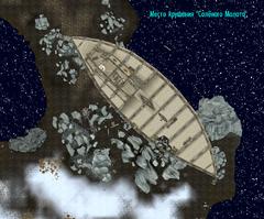 Солёный Молот - нижняя палуба - план