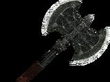 Nordic Silver Battleaxe