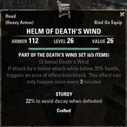 Deaths Wind - Helm 26