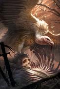 Feasting Vulture card art