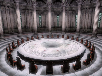 OB-interior-Imperial Palace, Elder Council Chambers