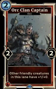 Orc Clan Captain (Legends)