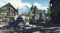 The Elder Scrolls Blades Promotional Town