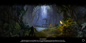 The Underroot Loading Screen