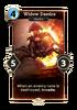 Widow Daedra Card