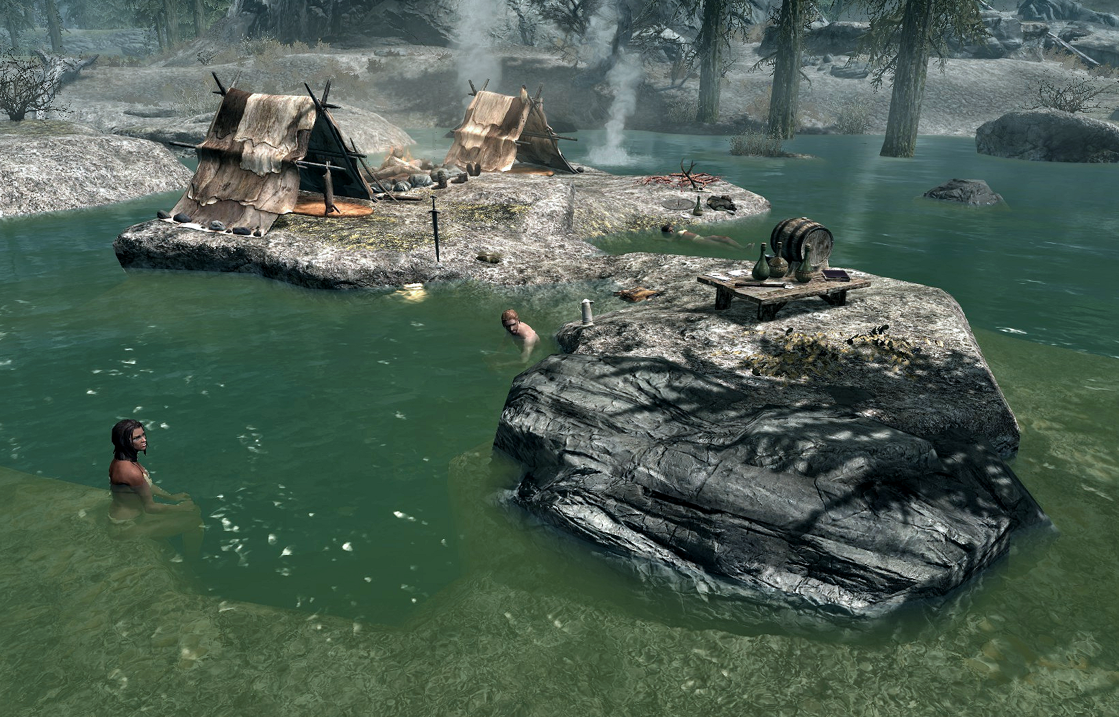 Hunter Jacuzzi Camp | Elder Scrolls | FANDOM powered by Wikia