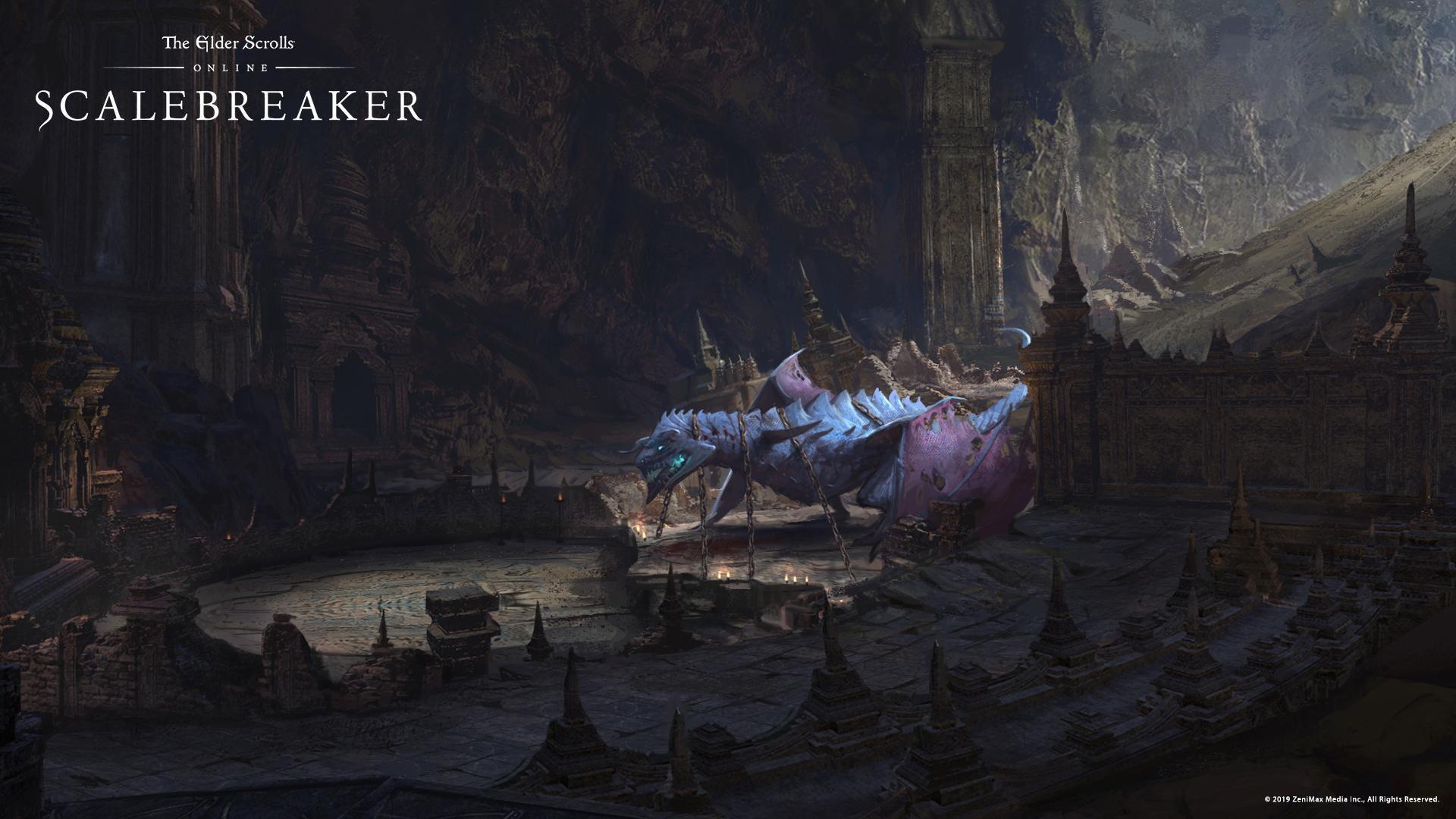 The Elder Scrolls Online Scalebreaker Elder Scrolls Fandom