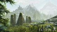 SkyrimSwitch Mountain