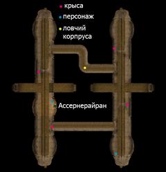 Подземелья святой олмс. План