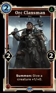Orc Clansman (Legends) DWD