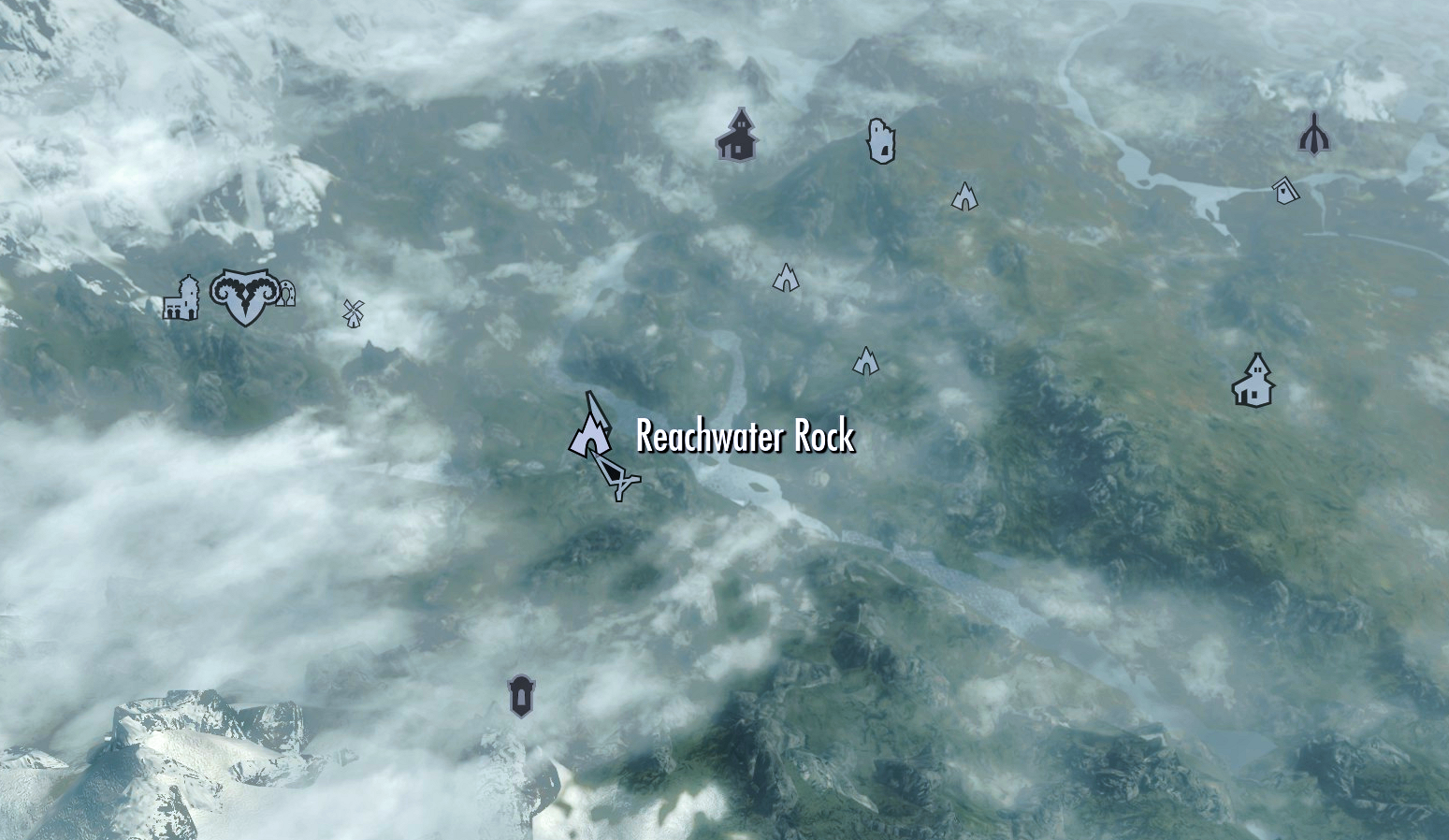 Map & Reachwater Rock | Elder Scrolls | FANDOM powered by Wikia