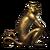 Treasure Monkey Brass