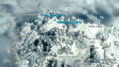Замок Карстаг - карта
