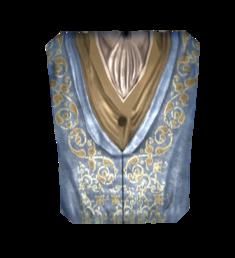 Роскошный голубой наряд