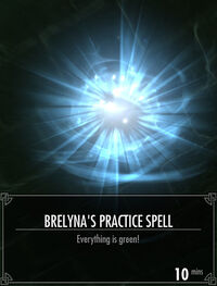 Brelynas Practice Spell