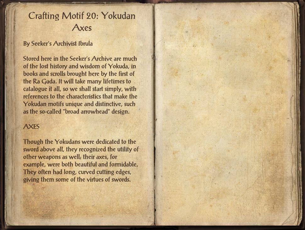 Crafting Motif 20: Yokudan Style   Elder Scrolls   FANDOM powered by