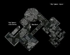 Форт Гринвол - тюрьма - план