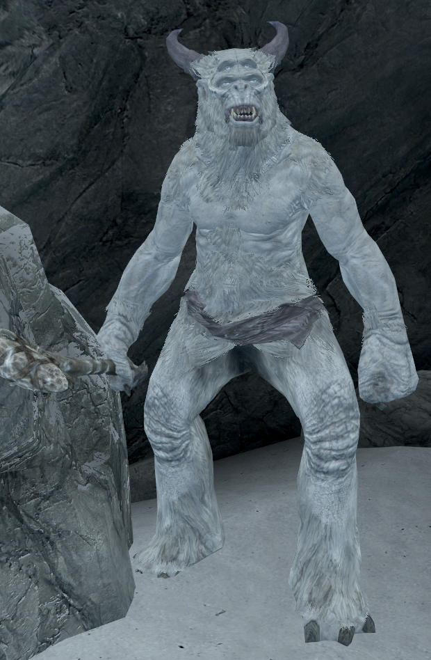 Frost Giant (Dawnguard)   Elder Scrolls   FANDOM powered by Wikia