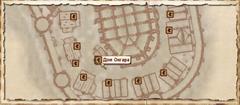 Дом Онгара. Карта