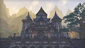 Здание в замке Алькаир 12