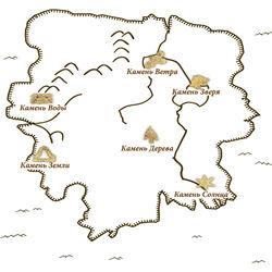 Карта Камней Создателя (TESIII)