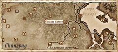 Пещера Хейнот. карта