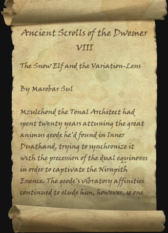 File:Ancient Scrolls of the Dwemer VIII 1 of 8.png