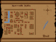 Norvulk Hills full map