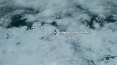 Il winterhold map
