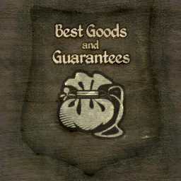 File:TESIV Sign Best Good and Guarentees.png