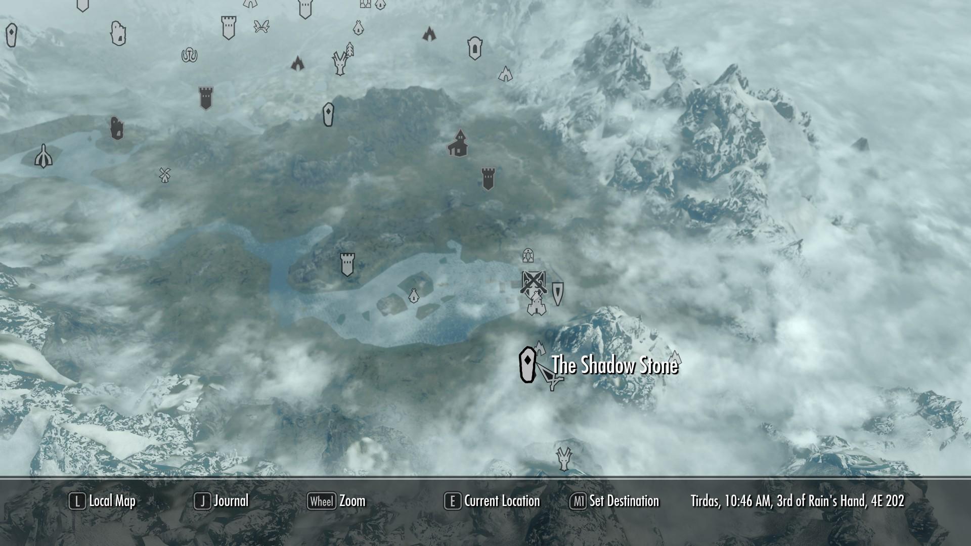 Skyrim ebony mine location