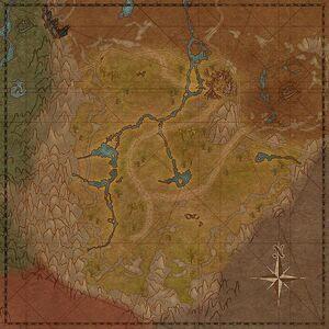 Лес Джоуд (карта)