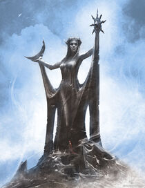 Статуя Азуры арт