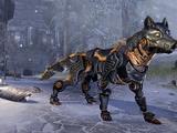 Ebon Dwarven Wolf