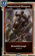 Improvised Weapon (Legends) DWD