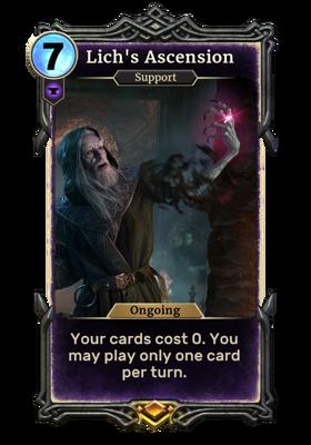 Вознесение лича (Card)