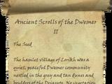 Ancient Scrolls of the Dwemer II