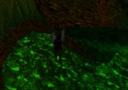 Redguard - The Goblin Caves - Shroom Door Ledge Grab