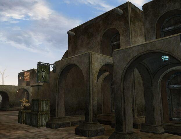 File:TES3 Morrowind - Balmora - Balmora Fighters Guild exterior.jpg