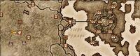 Карта святилища Молаг Бала