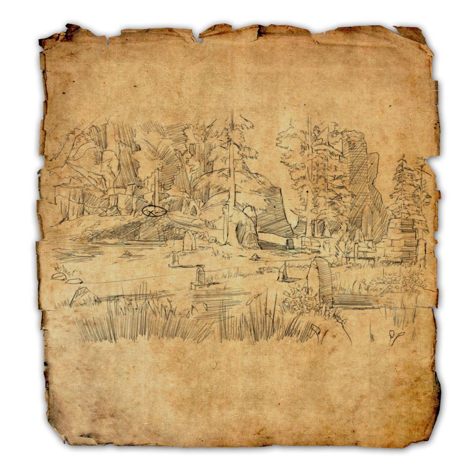 Craglorn Treasure Map V | Elder Scrolls | FANDOM powered by Wikia