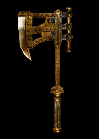 Dwarven War Axe (Morrowind) | Elder Scrolls | FANDOM ...