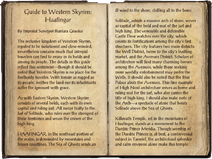 Guide to Western Skyrim Haafingar Pages 1-2