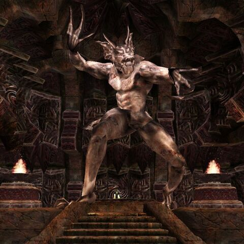 Kaplica Molag Bala z gry The Elder Scrolls III: Morrowind