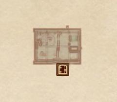 Бланкенмарш. Дом Флойда - план